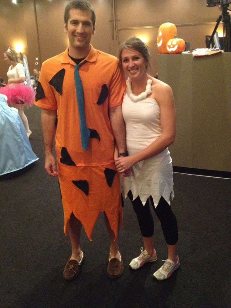 Cheap & easy Fred & Wilma costume