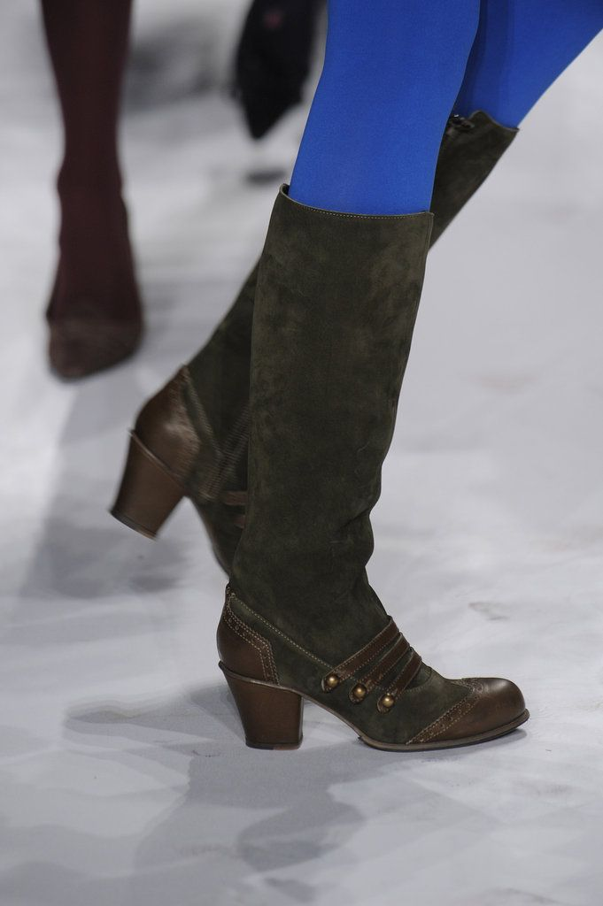 Boots!!!!  Best Shoes From Fall 2012 New York Fashion Week