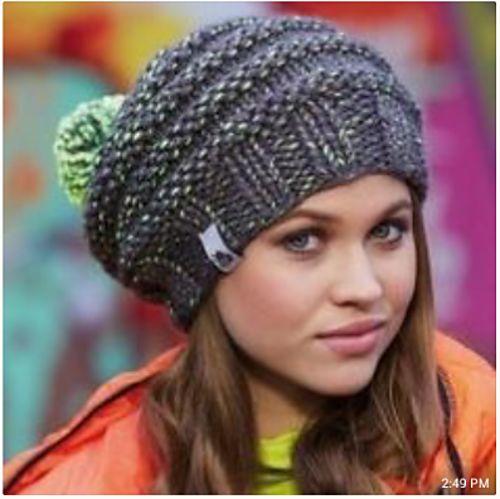 Ravelry: Neon Mix Hat pattern by Schachenmayr