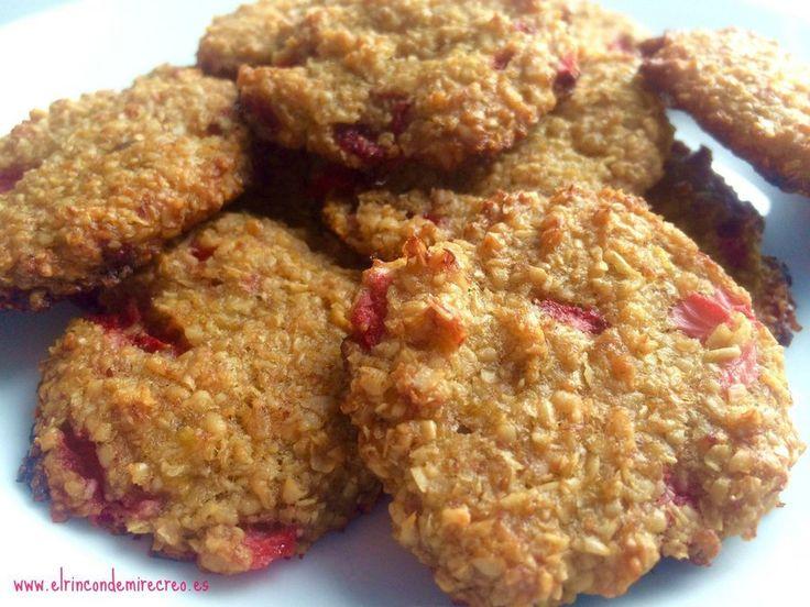 Estas galletas con avena y frutas que, además, son veganas, son una opción delicioso y nutritiva para incluir en el desayuno. Una receta del blog EL RINCÓN DE MI RECREO.