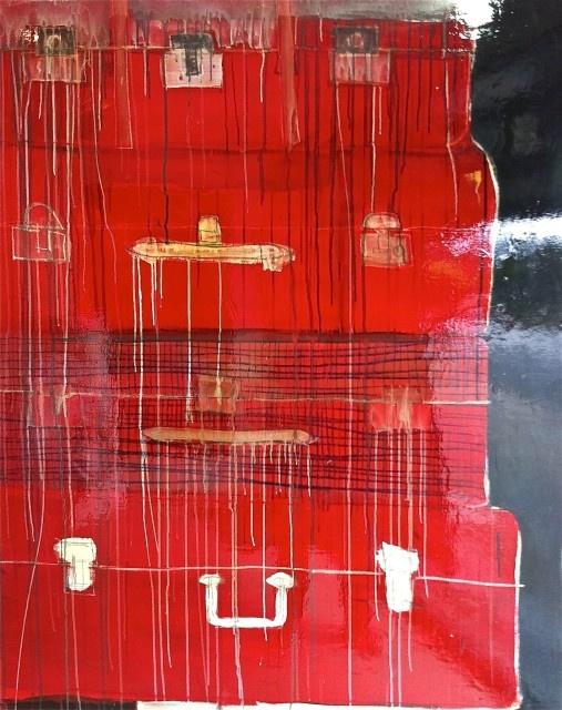 suitcases by matt martino