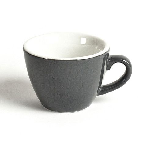 LET LIV - ACME & CO Flat White Cup in Grey