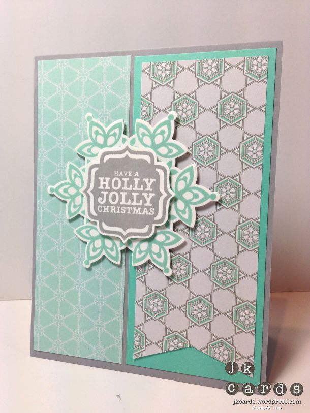Stampin Up!, Pals Paper Arts 165, Festive Flurry, Tags 4 You, Winter Frost DSP S
