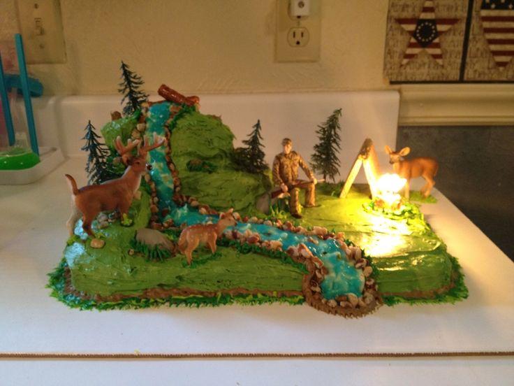Jerod's Deer Hunting Cake