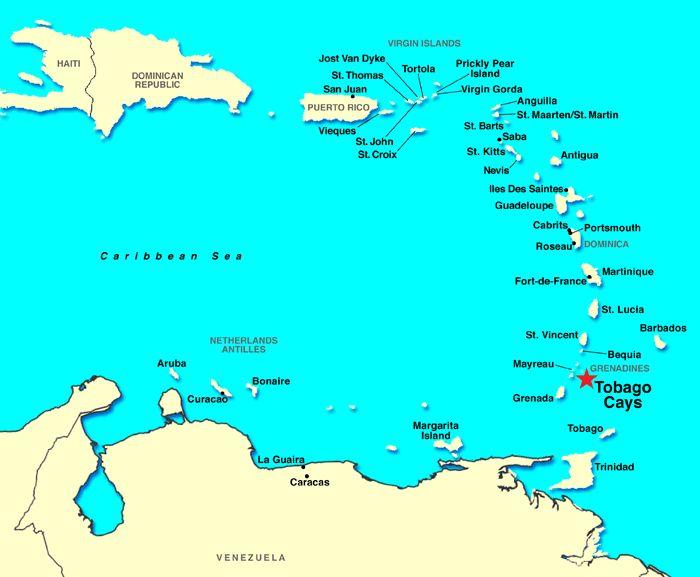 Tobago Cays, Grenadines - Discount Cruises, Last-Minute Cruises ...
