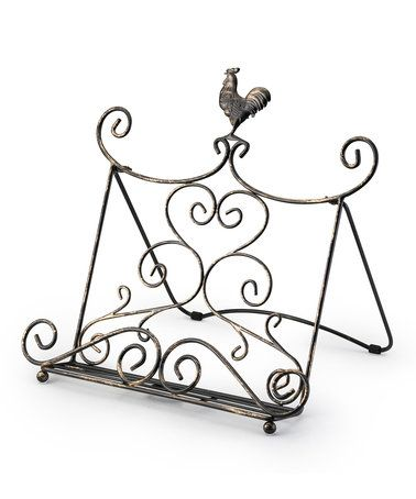 Loving this Rustic Cookbook Stand on #zulily! #zulilyfinds