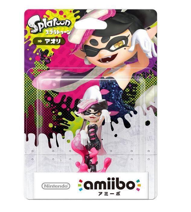 Amiibo Squid Sisters Callie Aori Splatoon Japan Nintendo 3DS Wii U F/SCallie  #Nintendo