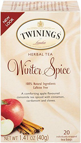 Twinings Herbal Tea, Winter Spice, 20 Count - http://teacoffeestore.com/twinings-herbal-tea-winter-spice-20-count/
