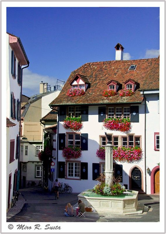 Basel, Basel Stadt, Switzerland How much I love this city ♥