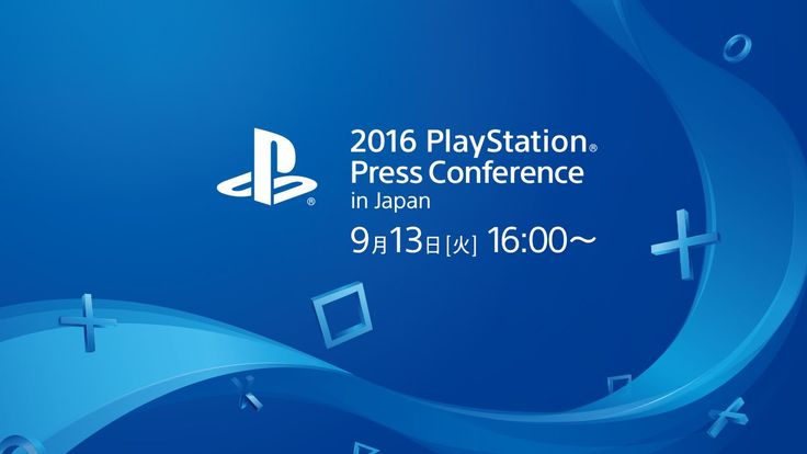 2016 PlayStation® Press Conference in Japan