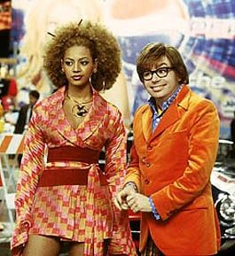 beyonce goldmember costume | Angie I just watched Austin Powers for the first time a week ago isn't ...