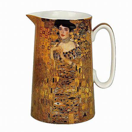 Klimt porcelán kancsó - Adele Bloch