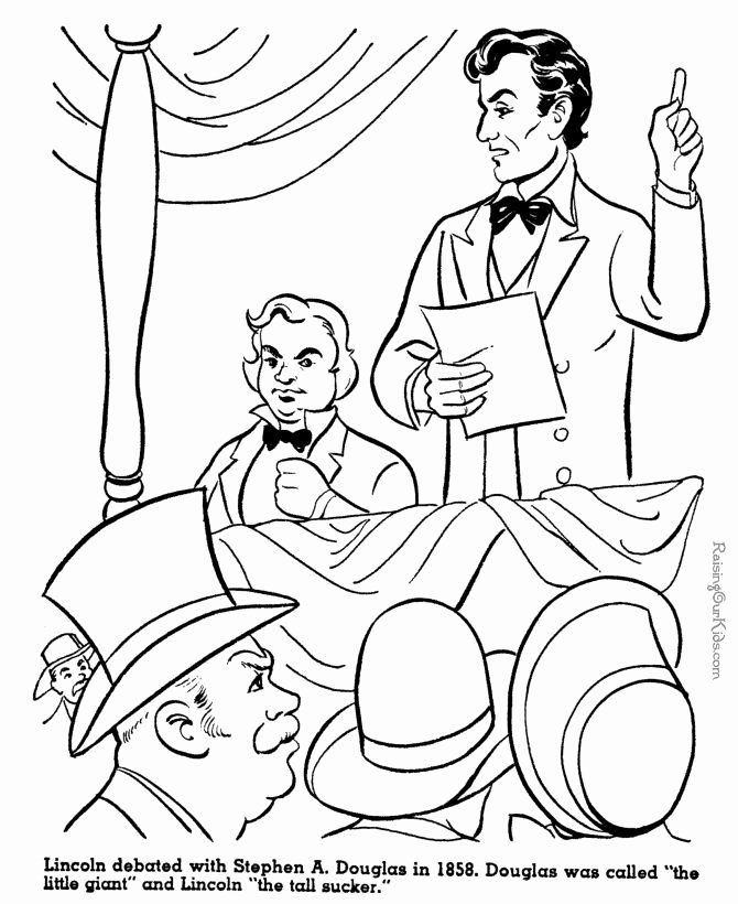 Abraham Lincoln Coloring Page Best Of 28 Best Images About Icolor The Old West On Pinterest In 2020 History Drawings Coloring Pages Monster Coloring Pages
