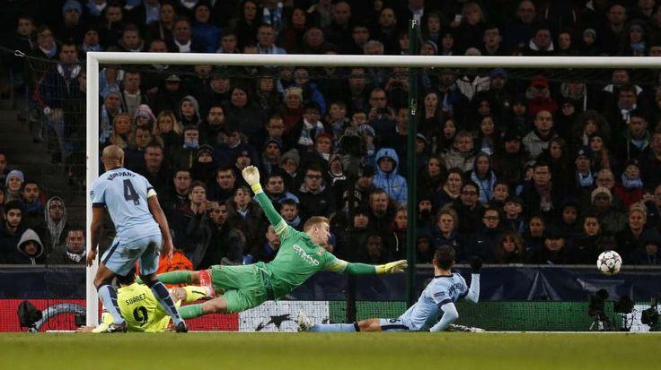 Champions League: Manchester City - FC Barcelona 1:2 - Suarez beißt City weg - Fussball - Bild.de