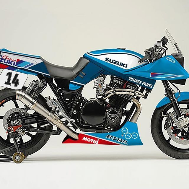 Looking forward to seeing this built on our stand at @motorcyclelive!  #Suzuki #katana #gsx1100 #gsx1100s #gsx1100sd #endurancelegends #motorcyclelive