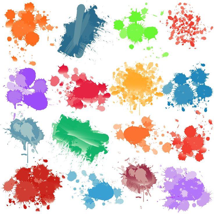 how to make paint splatter in illustrator