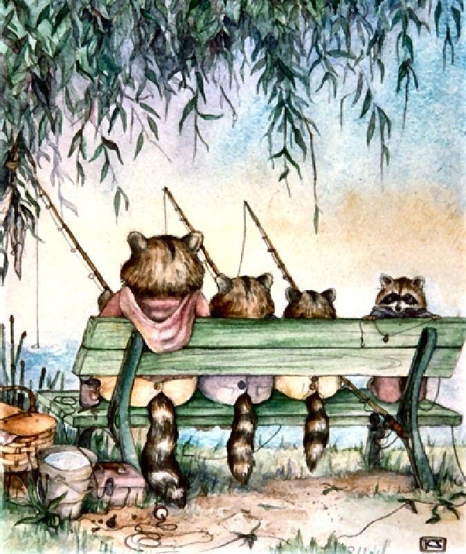 Happy Fishing by Kim Jacobs