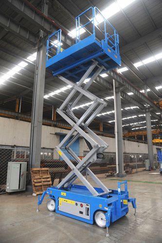 Mobile Scissor Lift- Model-SJY0.5-12 We offer EXTENDER ...