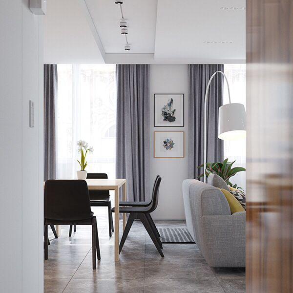 Crisp comfortable apartment designs 24