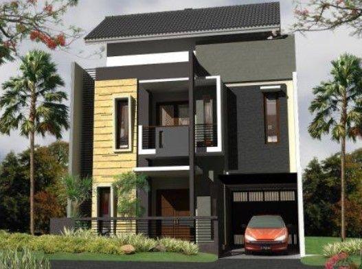 Model Rumah Minimalis 2 Lantai Type 36 Tampak Depan Rumah Minimalis Desain Rumah Rumah