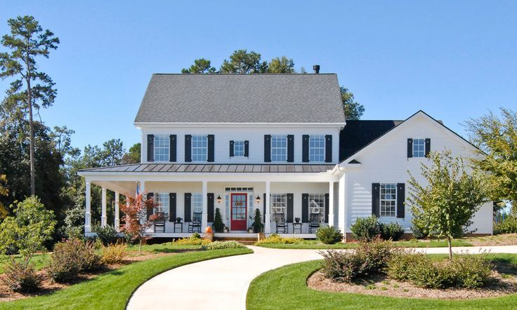 25 Great Farmhouse Exterior Design Inspiration