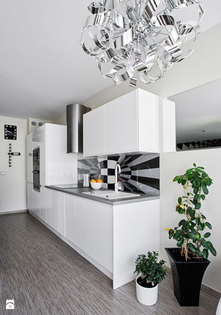 CZYSTOŚĆ BIELI - Kuchnia - Styl Nowoczesny - Atlas Kuchnie Szczecin