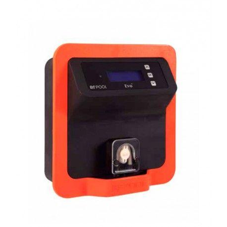 Regulador de pH BSV EVopH-P Referencia:  EVopH-P Equipo automático de dosificación de pH o cloro (ORP) para uso en tratamientos de agua en piscinas privadas, públicas y semipúblicas mediante lectura con sondas de pH o REDOX (ORP), con dosificación mediante bomba peristáltica o de impulsos.