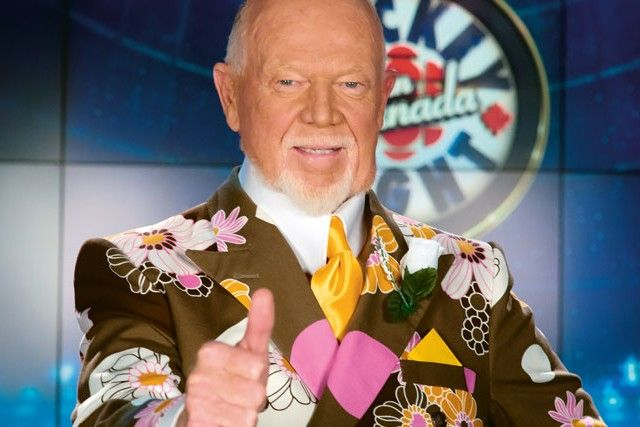 Don Cherry is known for his straightforward attitude that got him fired from several coaching positions