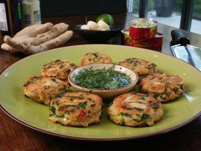 Pastelitos de atún y especias (Spicy tuna fish cakes)