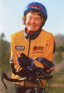 Sister Madonna Buder -  nun & triathlon competitor in her 80s