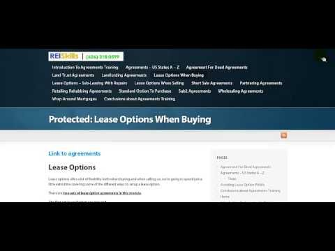 Real Estate Investing Contracts, Agreements and Forms for sale