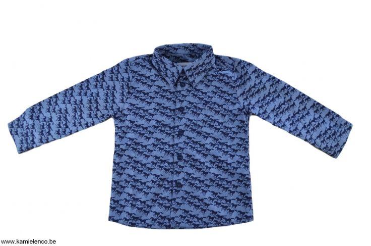 Filou and Friends wintercollectie 2018 - Filou and Friends hemd lange mouw bedrukt - M4300517140
