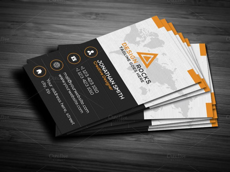 Best Vertical Business Cards Ideas On Pinterest Modern - Business card vertical template