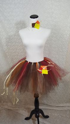 Scarecrow Tutu Set ADULT Scarecrow Costume Fall by pearlsandtulle