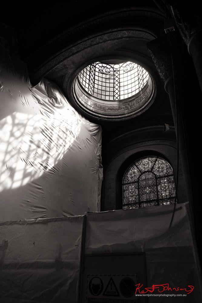 https://flic.kr/p/22PXAT7 | Light filtering into Église de Saint Germain des Prés. Paris. | Interior and restoration work, Église de Saint Germain des Prés. Paris; France,