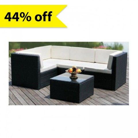 5 Piece Vegas Corner Outdoor Set