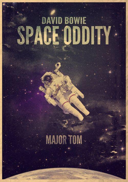 Bowie <3 Space Oddity
