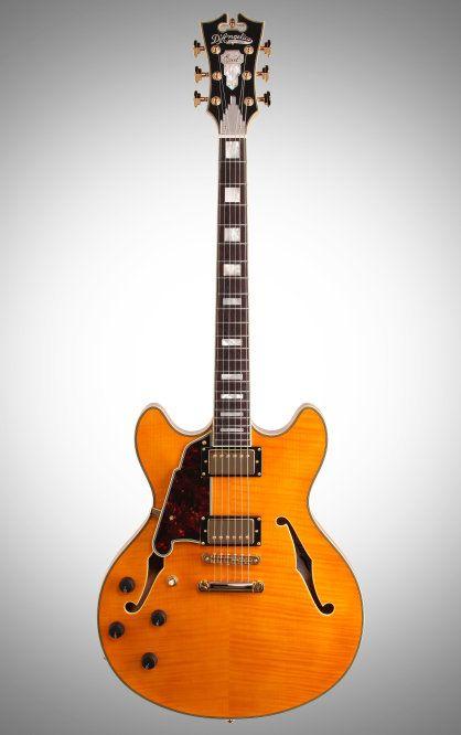 11 best d 39 angelico guitars images on pinterest electric. Black Bedroom Furniture Sets. Home Design Ideas
