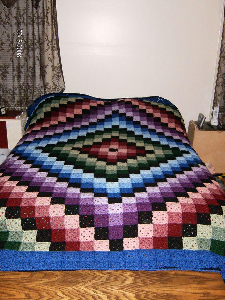 Ravelry: Around the World Crochet Quilt by Karen Buhr