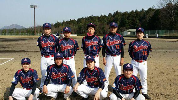 アックス ボンバーズ様(草野球チーム)野球ユニフォームご紹介 | 野球ユニフォーム オーダー EUGENE