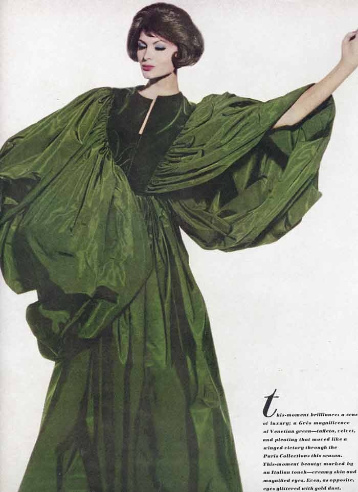 madame-gres-green-dress: Vintage Dresses, Vintage Fashion, 1950S Vintage, Gres Dress, Mrs. Sandstone, 1950S Fashion, Green Madame, Madame Gres