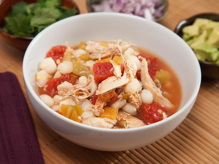 Chicken Pozole Recipe : Food Network - FoodNetwork.com