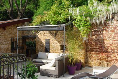 Chambres d'hôtes à vendre en Beaujolais des Pierres Dorées à 25 mn de Lyon