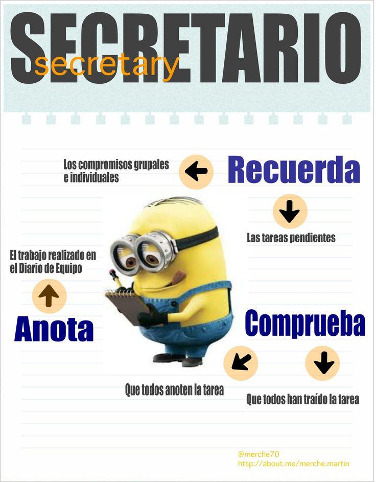 secretario - Imagenes Educativas