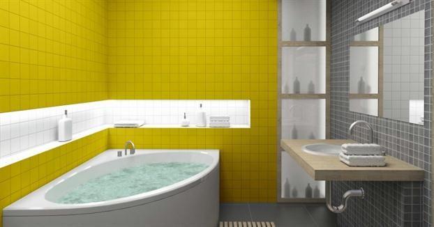 Eucatex lança tinta Epóxi Base Água  Organização no Lar  Pinterest -> Sonhar Banheiro Feminino