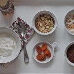 Yogurt with Toasted Quinoa, Almonds & Apricots | Recipe