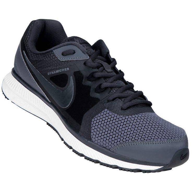 Las Zapatillas Nike Zoom Winflo Msl Negro e Gris-Plomo ofrecen la última  tecnología en