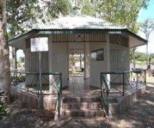 Rotunda in Cairns McLeod St Pioneer Cemetery