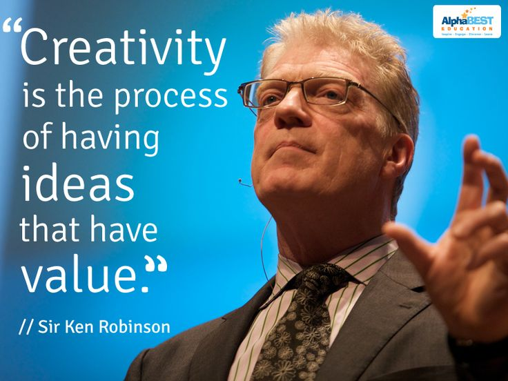 5 Lessons on Creativity from Sir Ken Robinson | AlphaBEST Education, Inc.