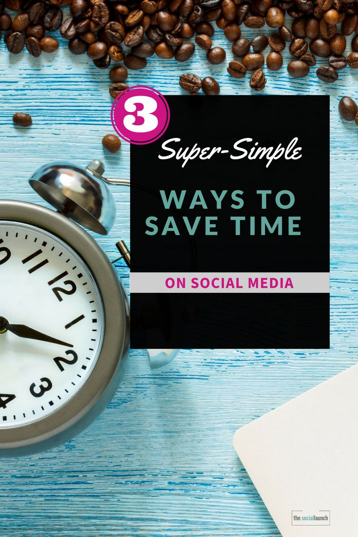 Are you spending too much time on social media?  Would you like to increase your productivity online and still look like a rockstar on social media?  In this post, you will learn 3 super-simple ways to be more productive and save time on social media.    # 1 Focus on what's important You want to spend your time on the